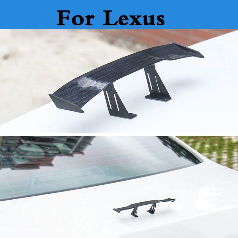 Nueva Ligero Posterior Del Coche tronco Hatchback Ala GT Racing Drift Para Lexus CT ES GS GX GS F HS ES ES LS LX RX NX RC RC F F LFA SC