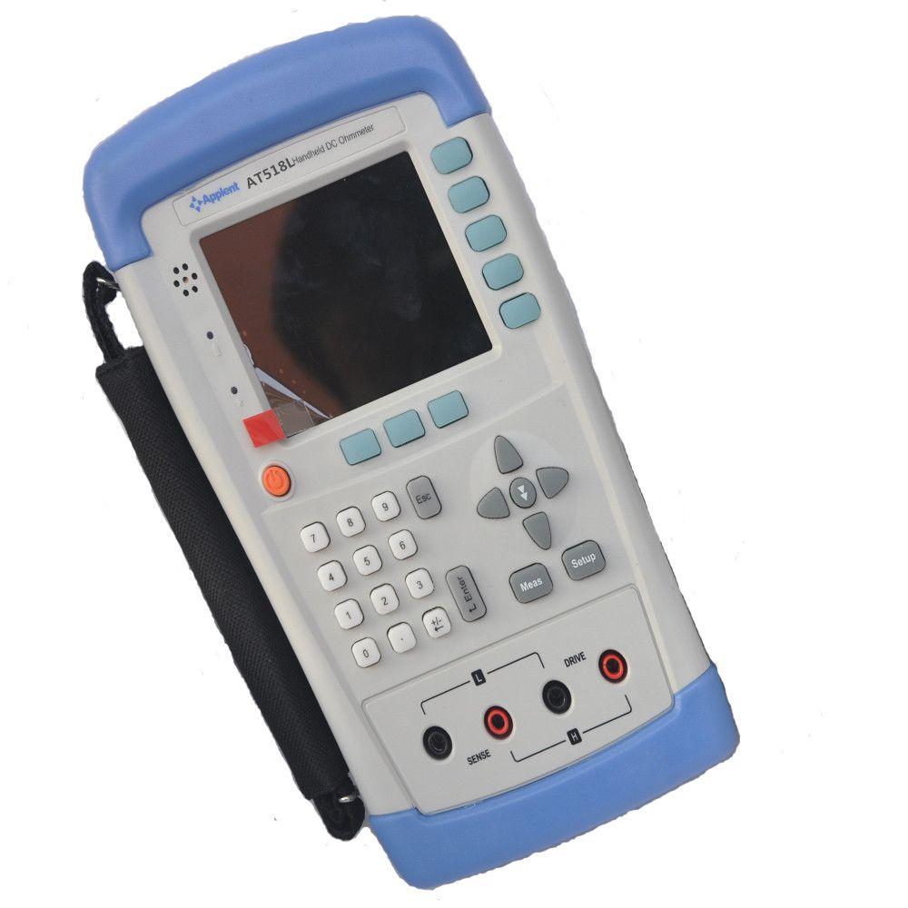 Handheld DC Resistance Meter Tester 10u ohm~200k ohm DC Milliohm Meter Micro Ohm Meter