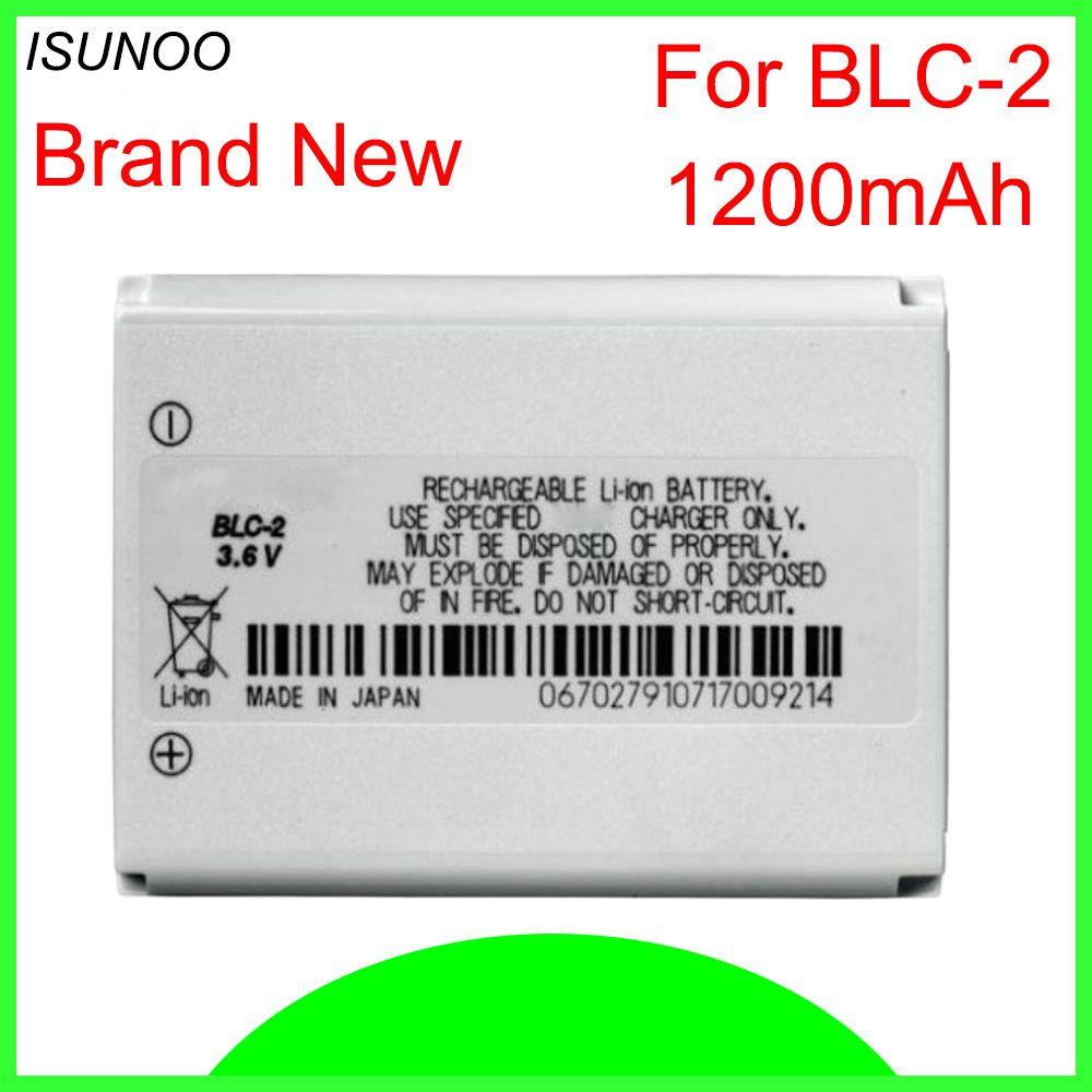 ISUNOO BLC-2 Batterie Für Nokia 3310 3330 3410 3510 5510 3530 3335 3686 3685 3589 3315 3350 3510 6650 6800 3550 BLC2 1200 mah