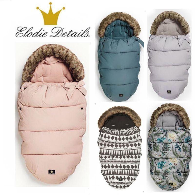 Original Elodie details Baby stroller oversized sleeping bags envelope winter wrap sleep sacks, Baby products