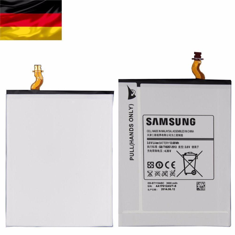 Оригинальный аккумулятор для Samsung eb-bt115abe планшет Galaxy Tab 3 Lite 7.0 sm-t111 T110 3600 мАч Batteria + инструмент + номер отслеживания