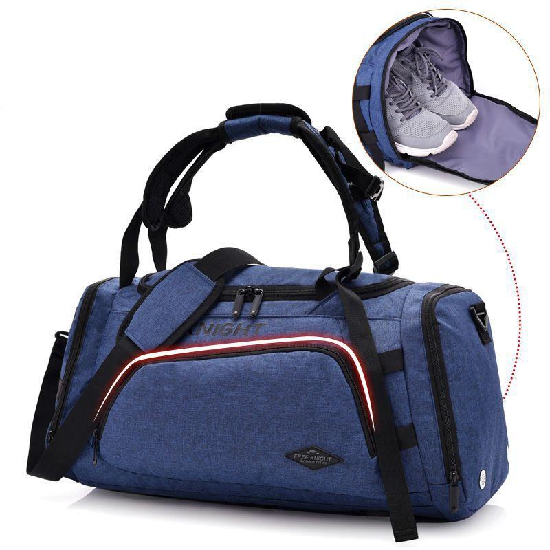 Terylene Männer Schulter Sport Sporttasche Multifunktionale Trage Fitness Taschen Für Schuhe Lagerung Diebstahl Außenreiserucksack
