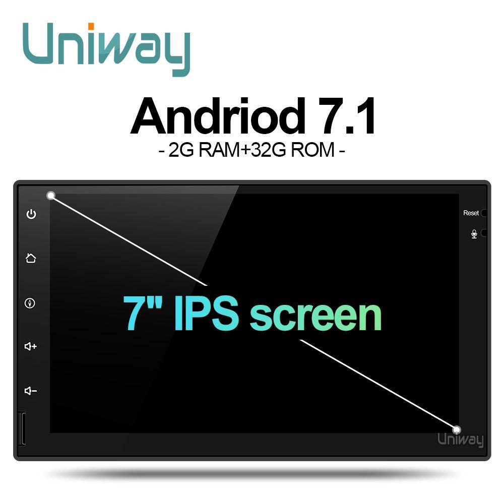 Uniway AWD7071 android 7.1 car dvd for nissan qashqai x-trail almera pathfinder teana note juke multimedia gps player
