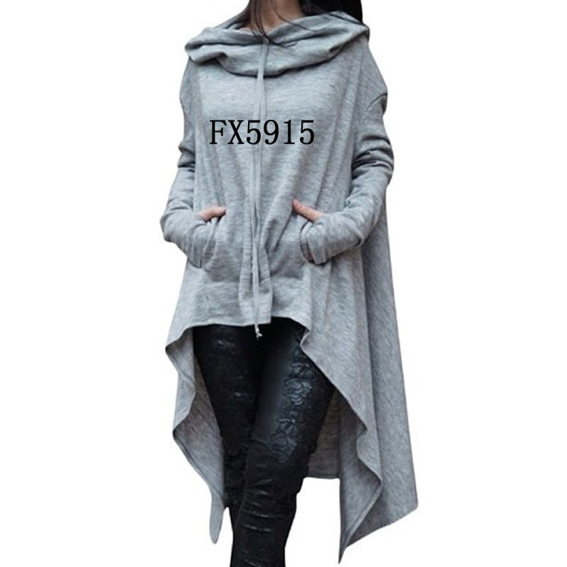 2018 New Fashion Sweatshirts Tops Kawaii Hoodies Hoody Thick Corduroy Cute And For Women Autumn