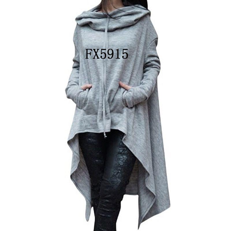 2018 New Fashion Sweatshirts Tops Kawaii Hoodies Hoody Thick Corduroy Cute And For Women Autumn