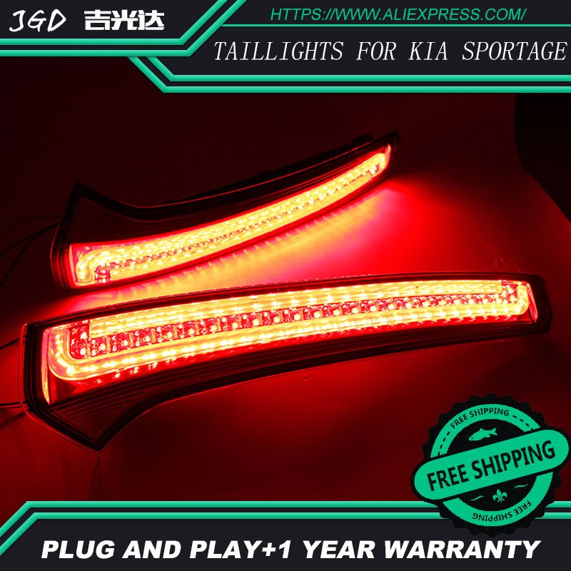 Free shipping Tail light parking warning rear bumper reflector for KlA Sportage cerato sportageR Ceed 2007-2014 taillights