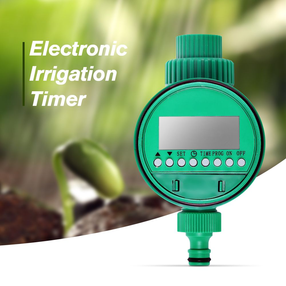 High quality plastic material Electronic Garden Water Timer Solenoid Valve Irrigation Sprinkler Control