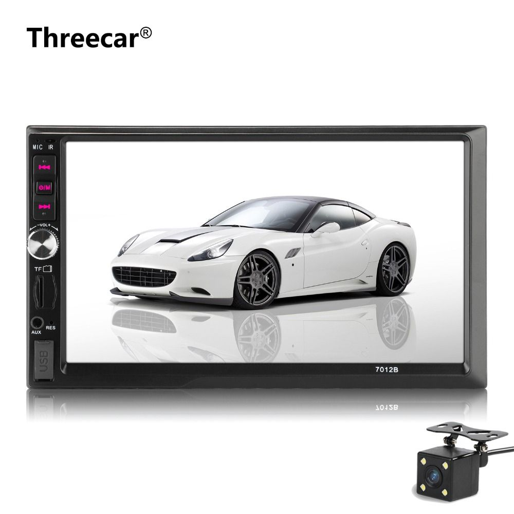 Car mp5 player Stereo Bluetooth Radio car audio HD 7 inch 2 DIN Touch Screen autoradio Handsfree Support Rear View Camera Player