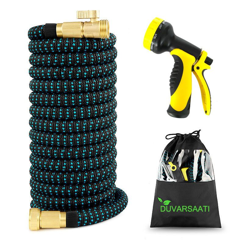 Expandable Garden <font><b>Magic</b></font> Hose Flexible Garden Water Hose High Pressure For Car Hose Pipe Plastic Hoses To Watering With Spray Gun