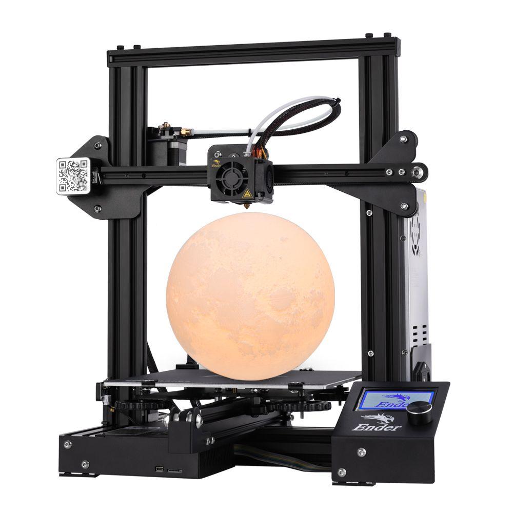 Ender-3 3D Drucker Große Druck Größe 220*220*250mm Ender 3/Ender-3X Abnehmbare Bett i3 Fortsetzung drucken von Stromausfall