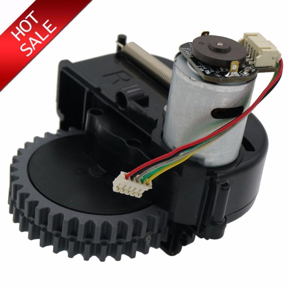 D'origine roue droite robot aspirateur Pièces accessoires Pour ilife V3s pro V5s pro V50 V55 robot Aspirateur roues moteurs