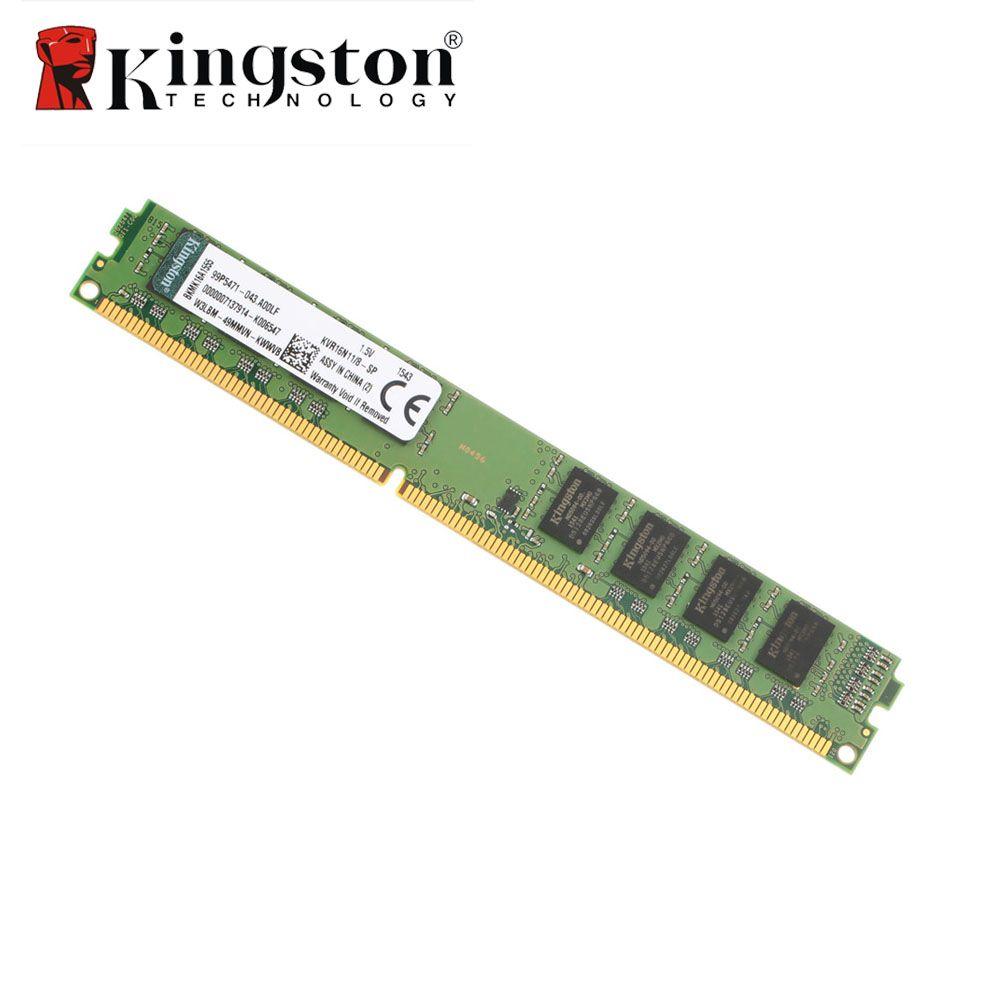 Kingston Original RAM DDR3 4 GB 8 GB 2 GB 1600 MHz DIMM Intel DDR Memoria De Bureau PC Mémoire Bâton Module Garantie À Vie KVR16N11