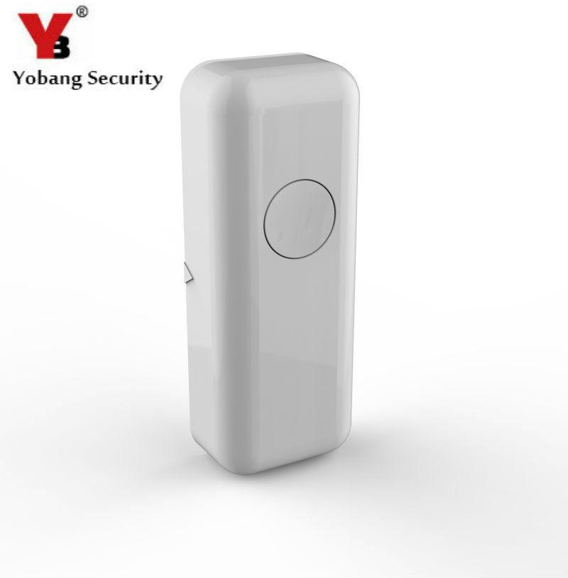 YobangSecurity Wireless Door Window Sensor Magnetic Contact 433MHz door detector Detect Door Open for home security alarm system