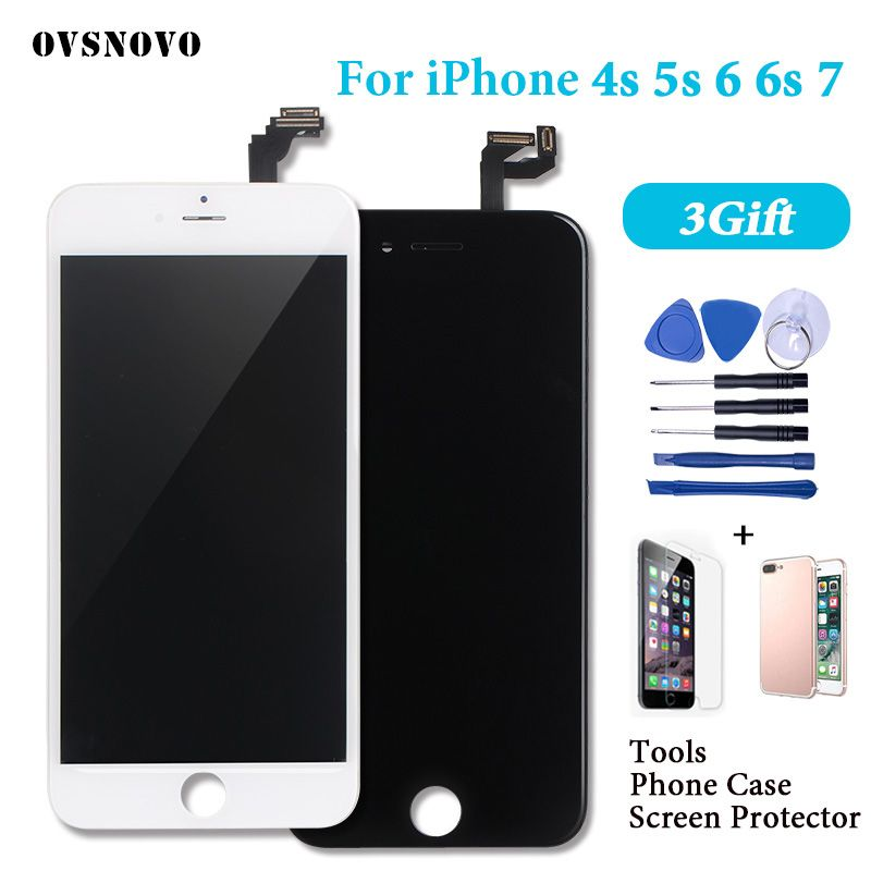 LCD for iPhone 7 Display Assembly Touch Screen Digitizer for iPhone 6 6s 5s 4s 8 pantalla Complete Replacement Alibaba Express