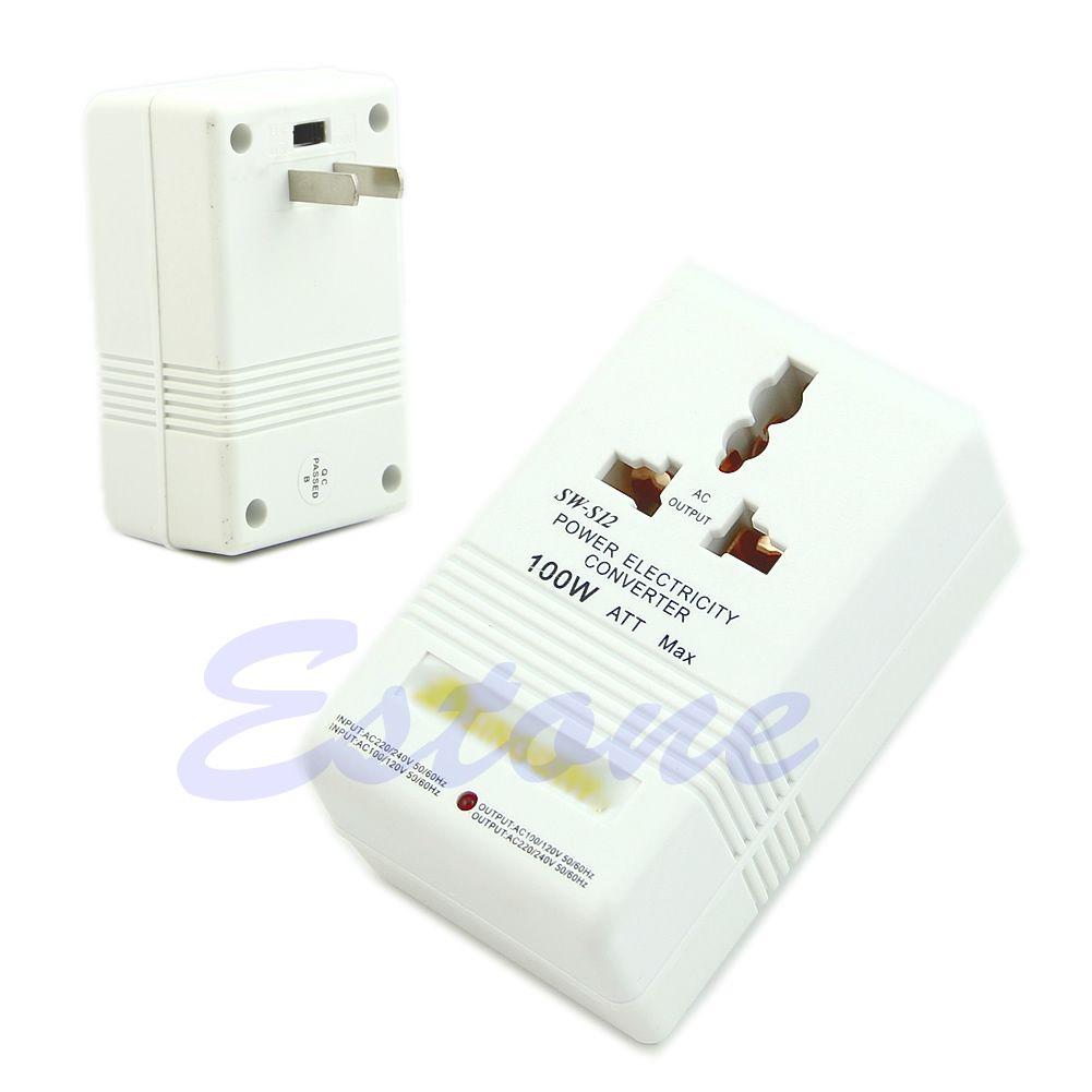 Professionelle 220/240 v Zu 110/120 v Power Spannung Strom Adapter Konverter