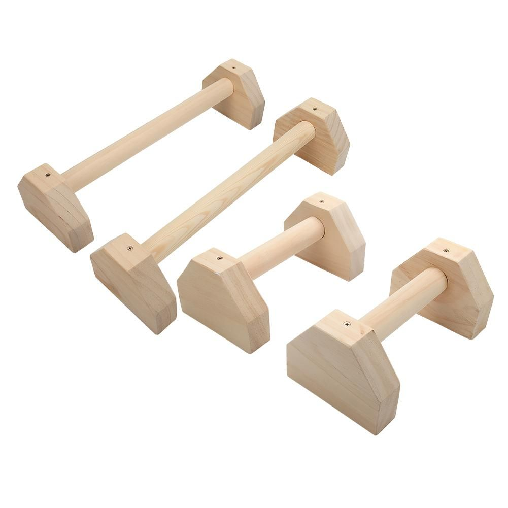1Pair Wooden Push Ups Stands Grip Fitness Equipment Handles Chest Body Buiding Sports Muscular Training Push Up Racks