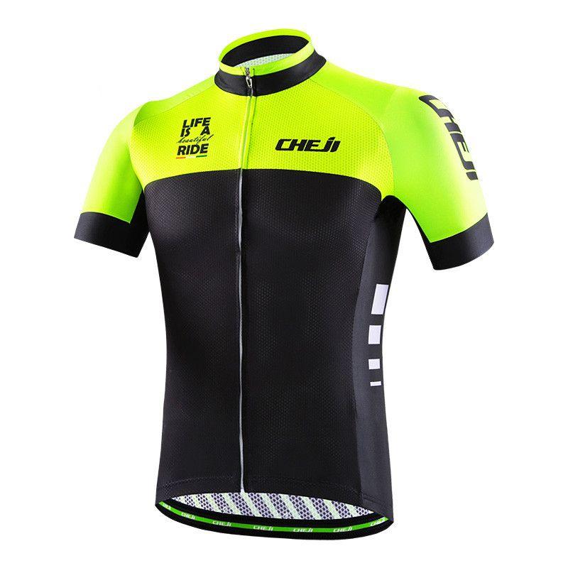 Cheji Mens Cycling Jersey Ropa Ciclismo Racing Sports Cycling Clothing Maillot MTB Bike Bicycle Clothes Hiking Shirts Jacket