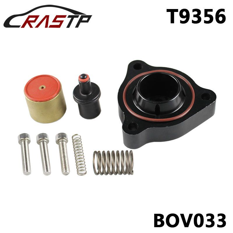 RASTP-Performance Blow Off Valve BOV Diverter T9356 Suits for Bmw F30 335i F20 F21 M135i/Alfa Romeo/Abarth RS-BOV033
