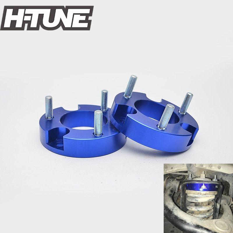 H-TUNE Suspension lift Kits 1inch Front Coil Strut Shock Spacer for Vigo Hilux 4WD 05-15
