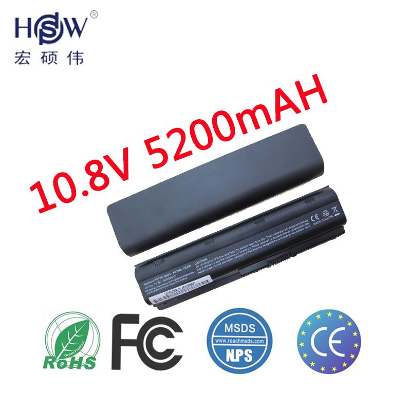 HSW batterie d'ordinateur portable pour hp pavilion G4 G6 G7 batteries CQ42 CQ32 batterie G42 CQ43 G32 DV6 DM4 430 593553-001 MU06 batterie d'ordinateur portable