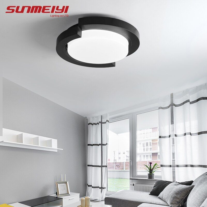 Modern LED Ceiling Lights With Remote Control Indoor Home Lamps For Living room Bedroom Irregular Ceiling Lamp lampara techo