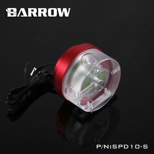 SPD10-S Barrow PWM speed control multi color 10W water cooling pump computer case pump cooler 12v G1/4
