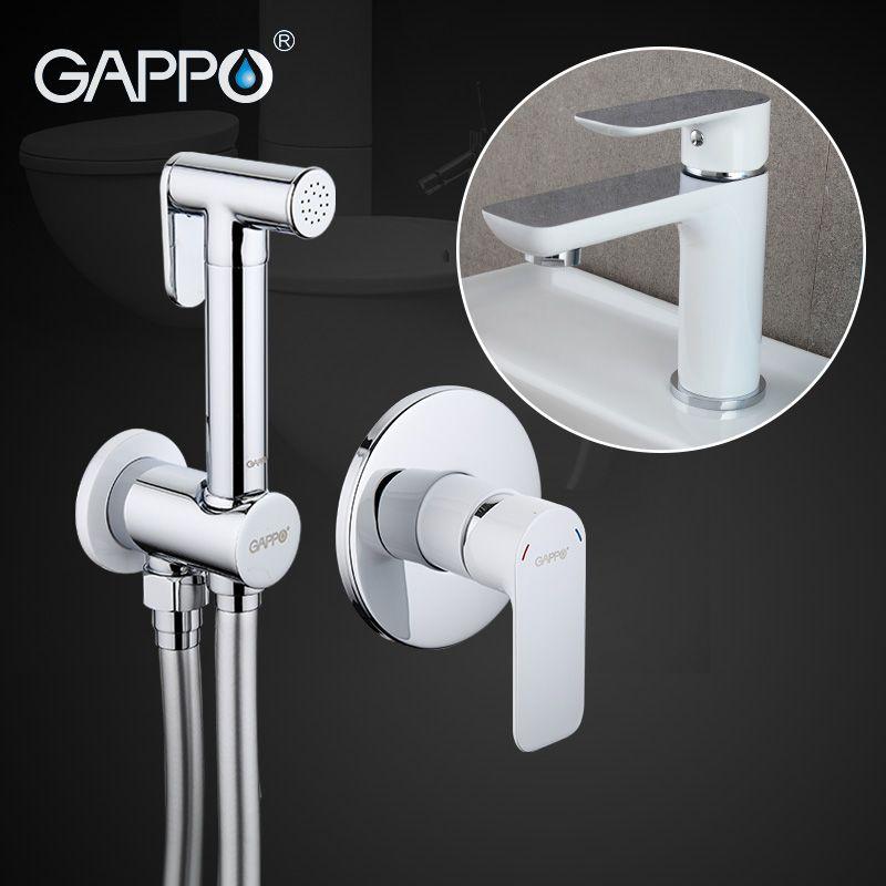 Gappo Bidet Faucets Brass Bathroom shower tap bidet toilet sprayer Bidet toilet and Basin Faucet GA7248 GA1048