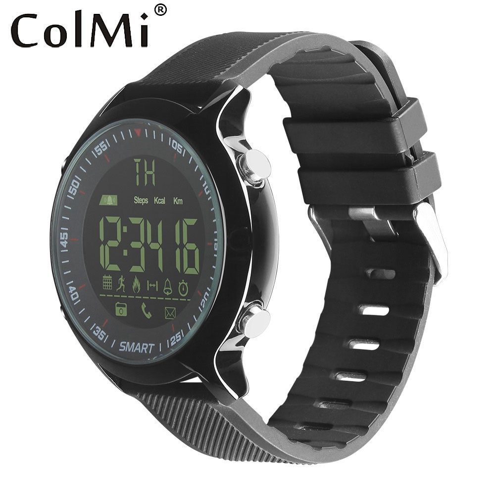 ColMi Smart Watch Waterproof IP68 5ATM Passometer Message Reminder Ultra-long Standby Xwatch Outdoor Swimming Sport Smartwatch