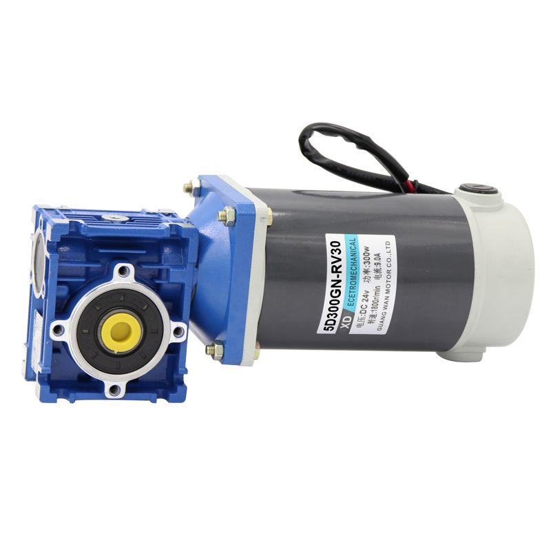 RV30 DC minderer turbine motor 12/24V300W einstellbare geschwindigkeit DC motor motor