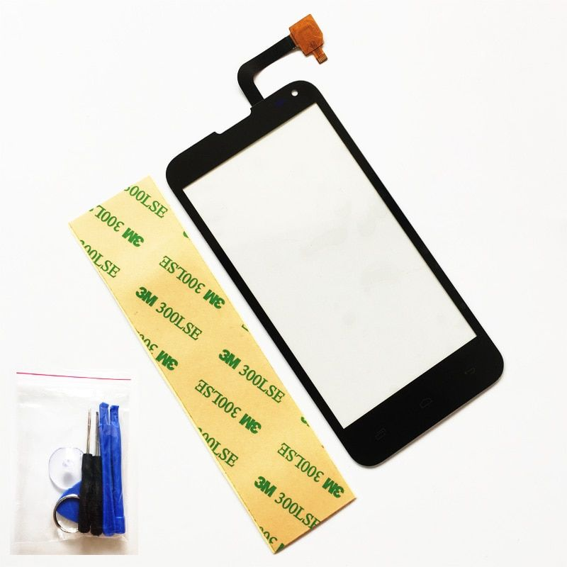 4.5 Inch Touchscreen For Fly IQ4415 IQ 4415 Touch Screen Sensor Digitizer Panel Front Glass Replacement + Tools +3M Sticker