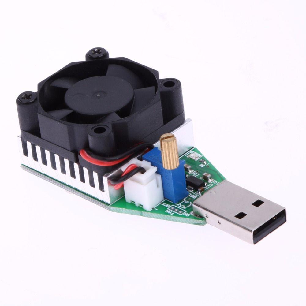 RD 15 watt Industrie Grade Elektronische Last Widerstand Usb-schnittstelle Entladung Batterie Kapazität Test Meter mit Fan Einstellbare Strom