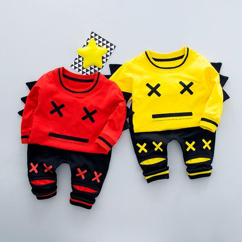 2018 Высокое качество Многоцветный для маленьких девочек и мальчиков Костюмы хлопок Наборы для младенцев wl1-wl10