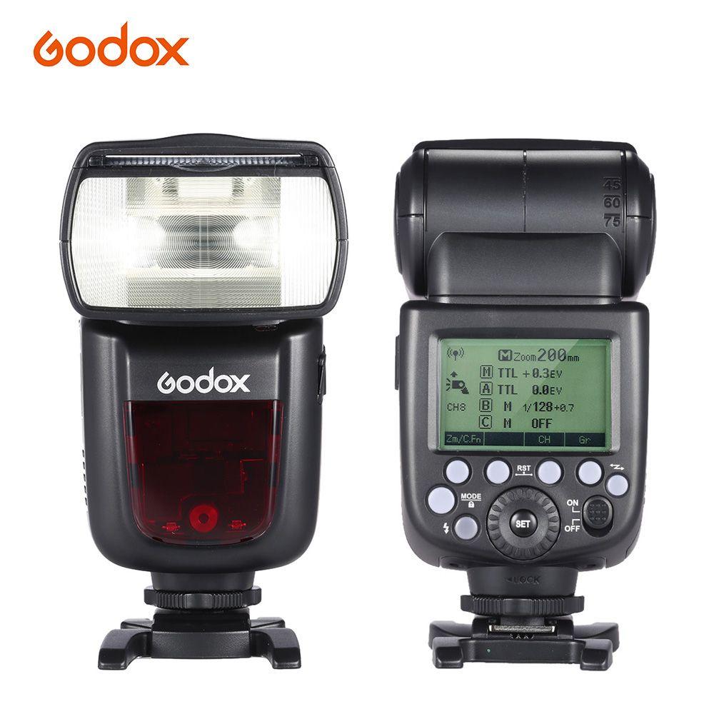 Godox V860II-C E-TTL 1/8000 S HSS Master Slave GN60 Speedlite Flash Eingebaute 2,4G Wireless X System für canon 1DX/5D Mark III Cam