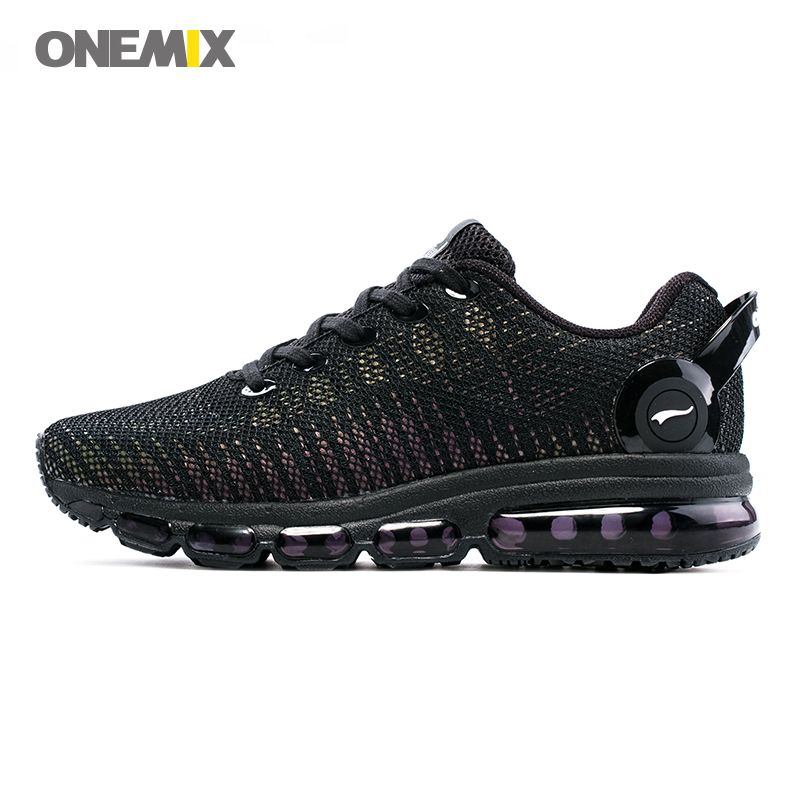 ONEMIX Men Running Shoes 2017 New Style Lightweight Colorful Reflective Mesh Vamp Sport Sneakers Discolor Run Trainers Walking