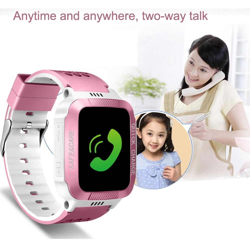 Y21S Intelligent Photo Taking Step Safety Dual Positioning Child Phone Watch Children's Watches mens watches top brand luxury to