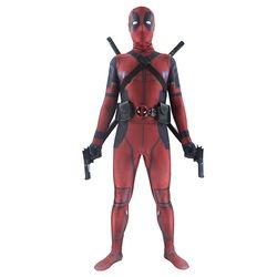 Deadpool costume adulte Homme marvel cosplay deadpool costumes hommes enfants Wade Wilson Spandex Lycra Nylon Zentai body Halloween
