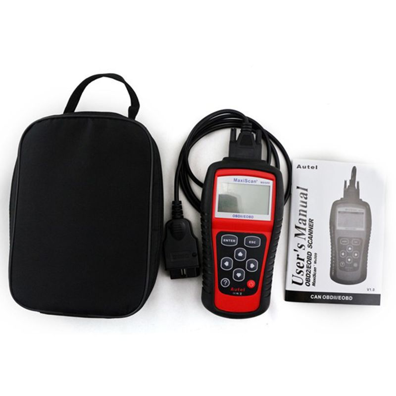 Autel MaxiScan MS509 Car / Vehicle OBD2 Engine Fault Diagnostic Scanner Auto diagnostic-tool OBDII Code Readers & Scan Tools