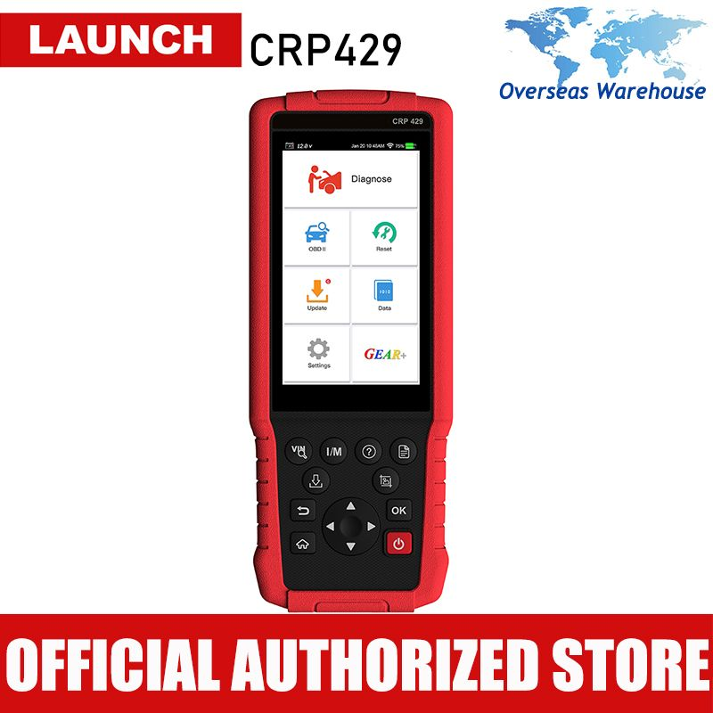 Launch CRP429 Car Diagnostic Tool Auto Scanner All System Diagnostics Scan Automotive Autoscanner VS CRP429C CRP 429
