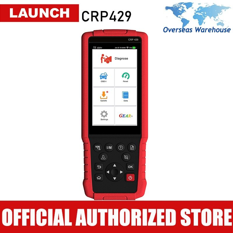 Starten CRP429 Auto Diagnose Werkzeug Auto Scanner Alle System Diagnose Scan Automotive Autoscanner VS CRP429C CRP 429