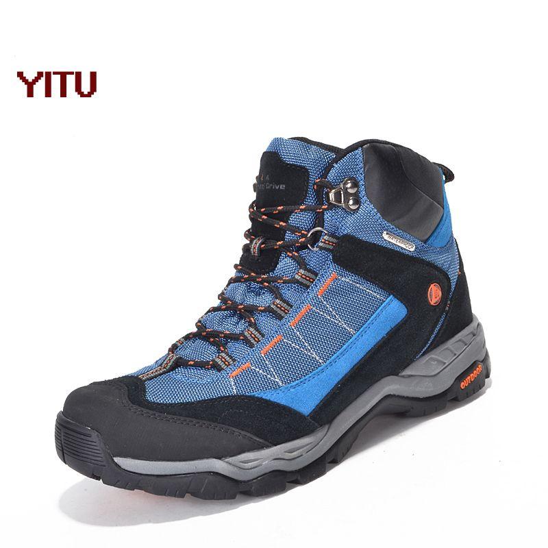 Outdoor Waterproof Hiking Shoes Sport Trekking Mountain Climbing Sneakers Anti-skid Hunting Boots Men New Autumn Winter Sneakers