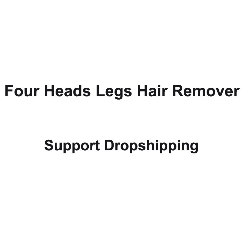 Four Heads Rechargeable Shaver <font><b>women</b></font> Body Hair removal device Support Dropshipping Small Air Conditioning Appliances Fans
