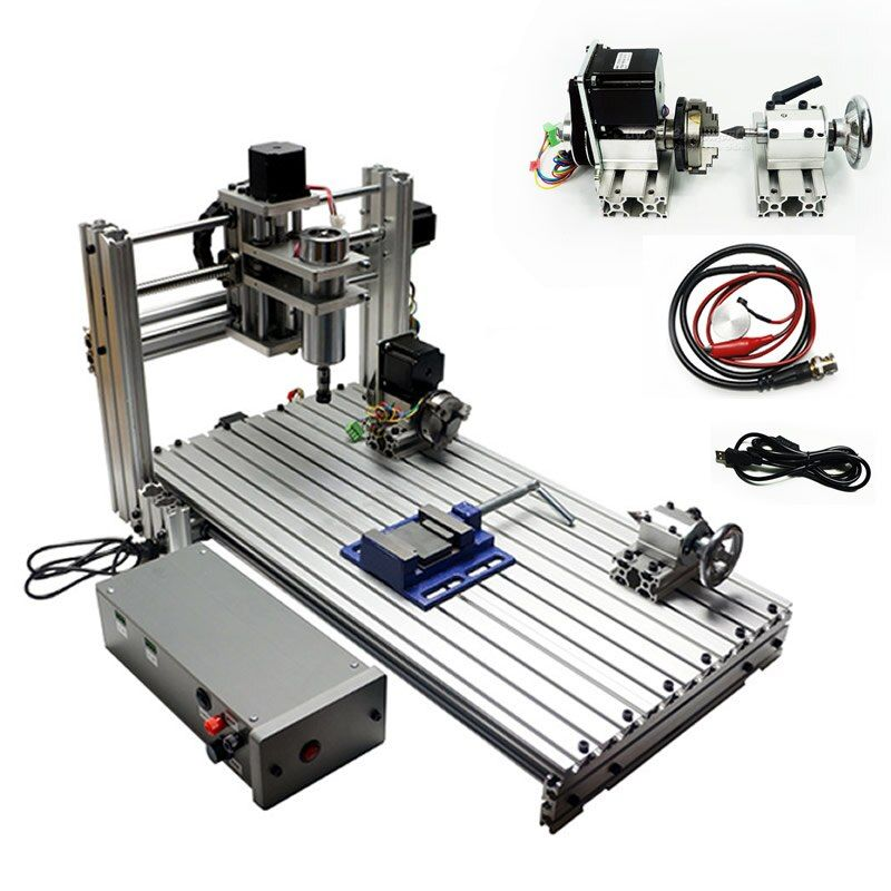 USB port DIY mini cnc engraving machine 3060 6030 with ER11 collet cnc router