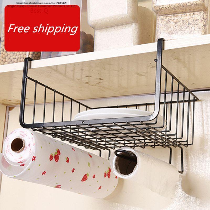 Livraison gratuite placard étagère rack de stockage couches rack de stockage panier suspendu étagère rack dortoir armoires de cuisine rack de stockage