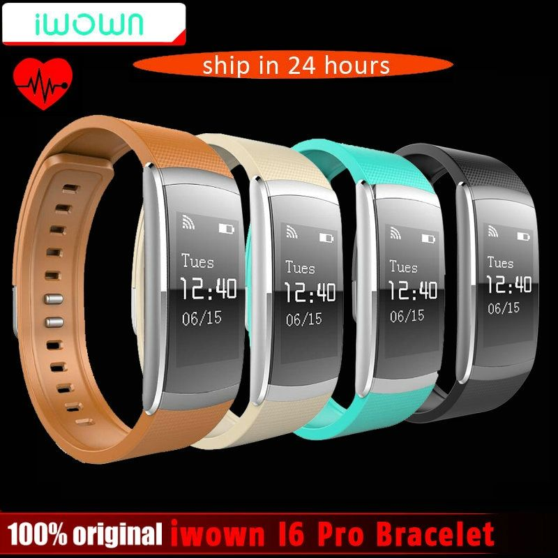 New Original iwown iwownfit I6 PRO Smart Wristband Heart Rate Monitor Smart Bracelet Fitness Tracker support Andriod IOS
