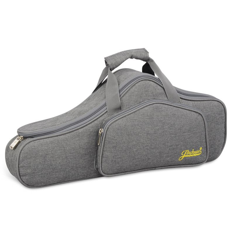Portable Water-resistant Alto Saxophone Sax Bag Case 15mm Thicken Padded Double Zipper with Adjustable Shoulder Strap Pocket