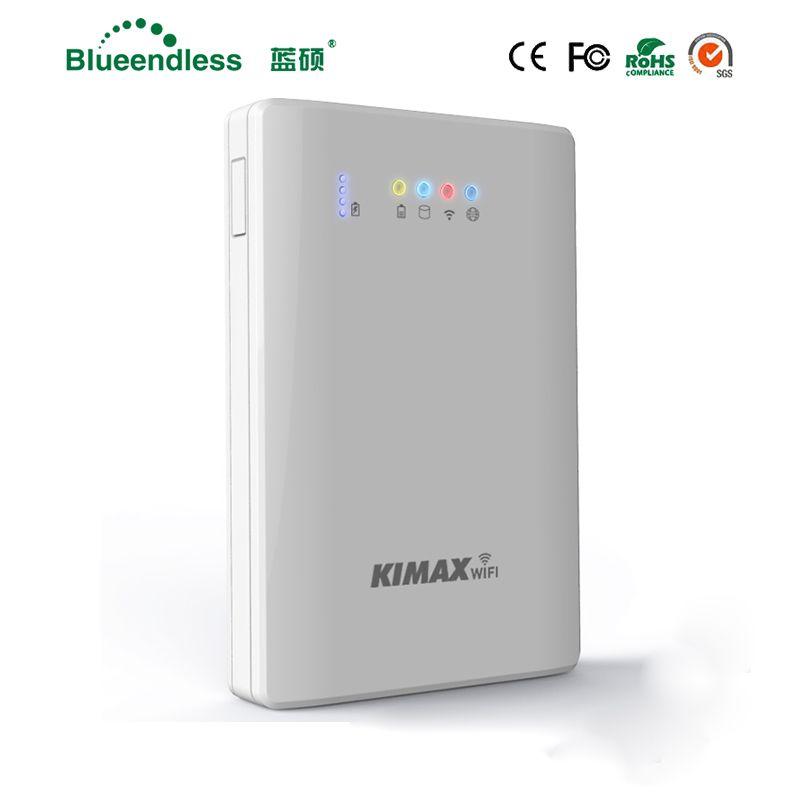 4000 mah Power Spiel spielen! Wifi Repeater Sata USB3.0 Hdd Fall 1 tb Festplatte Caddy Externe HDD SSD Fall für Telefon/Tablet/ PC