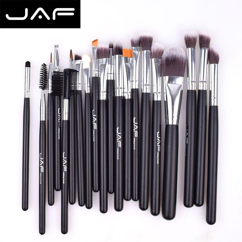 Ensemble de pinceaux de maquillage de marque 20 pièces kit de pinceau de mélange professionnel outils de maquillage de base ensemble de pinceaux de maquillage de haute qualité