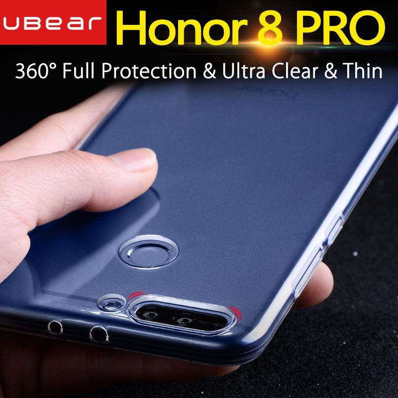 Huawei honor 8 pro cas Huawei honor 8 pro cas de couverture silicone effacer back iBear honor8 PRO cas 5.7 duc coque transparent TPU