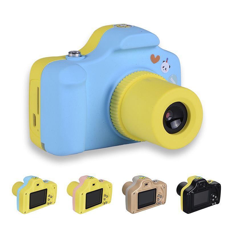 1,5 Zoll 2MP 1080 P Mini LSR Cam Digitalkamera für kinder Baby Niedlichen Cartoon Multifunktions Spielzeug Kamera Kinder Geburtstag Besten geschenk