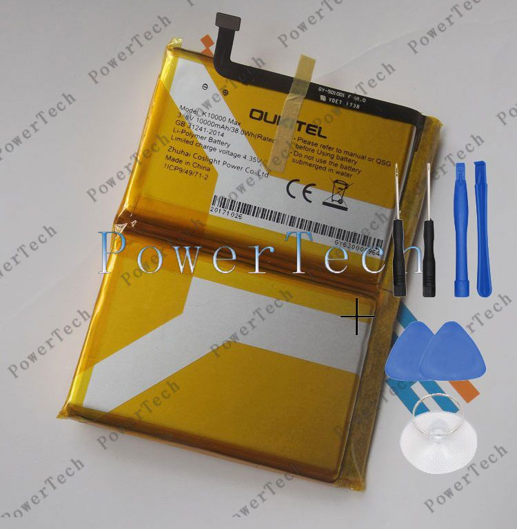 100% Original OUKITEL k10000 max Batterie für 5,5 zoll oukitek k10000 max Handy